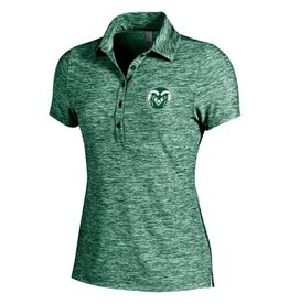 UNDER ARMOUR LADIES UA RAM LOGO ZINGER POLO