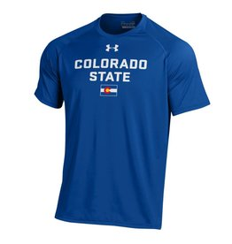 "UNDER ARMOUR UA COLORADO ""STATE"" PRIDE ROYAL GAME TEE"
