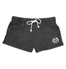 BOXER CRAFT LADIES RAM LOGO RALLY SHORT