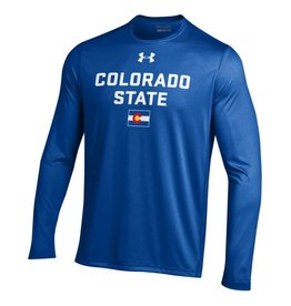 "UNDER ARMOUR UA COLORADO ""STATE"" PRIDE ROYAL GAME LS TEE"