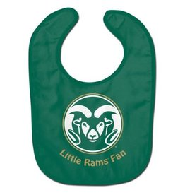 LITTLE RAMS FAN BABY BIB