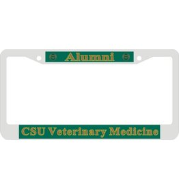 Alumni CSU Veterinary Medicine License Frame