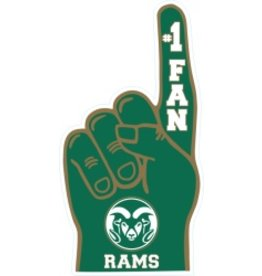 Colorado State #1 Fan Hand Magnet