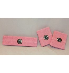 FOR BARE FEET LIGHT PINK RAM LOGO WRISTBAND