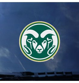 GREEN RAM HEAD DECAL- 3.5""