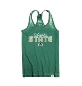 LEGACY ATHLETIC APPAREL LADIES COLO ST RACERBACK TANK