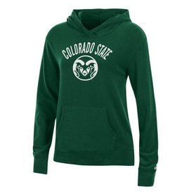 CHAMPION CUSTOM PRODUCTS LADIES COLO STATE RAM LOUNGE HOODY