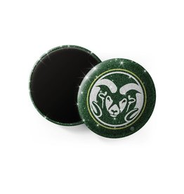 SPIRIT GEAR CENTRAL COLO STATE RAMS GLITTER MAGNET