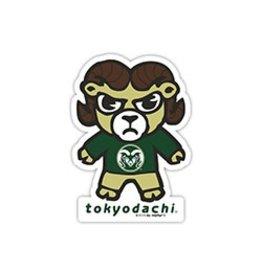 ZEPHYR COLORADO STATE TOKYODACHI STICKER DECAL
