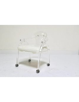 LUCITE GAME CHAIR