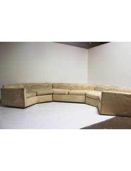 CURVED SECTIONAL SOFA