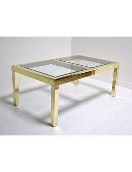 MASTERCRAFT DINING TABLE GOLD FINISH