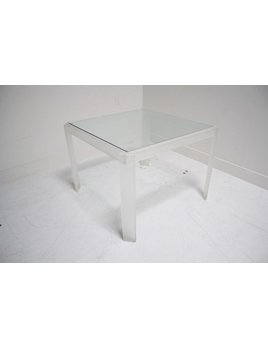 FROSTED ACRYLIC GAME TABLE