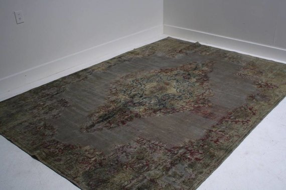 ZA-051 TURKISH OVERDYED RUG