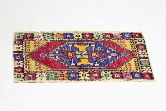 ZA-113 VINTAGE TURKISH RUG
