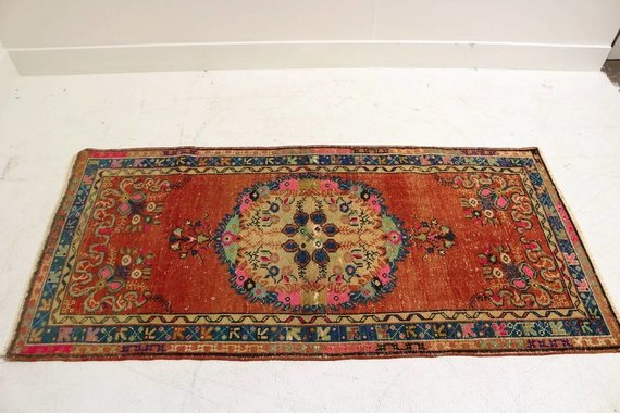 ZA-129 VINTAGE TURKISH RUG