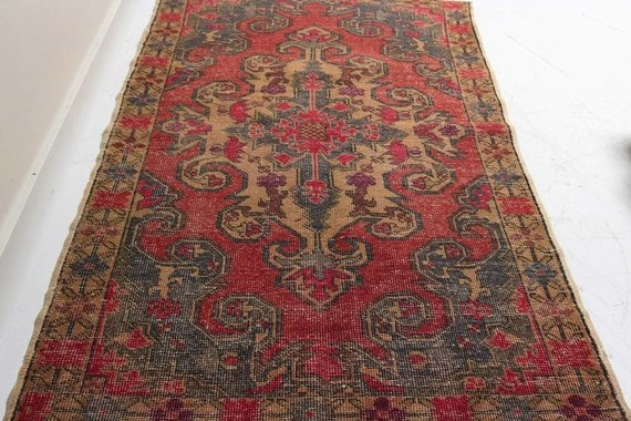 ZA-156 VINTAGE TURKISH RUG