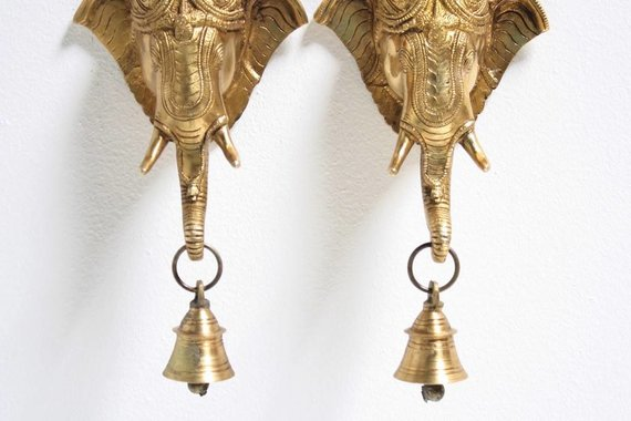 ELEPHANT KNOCKER WITH BELL