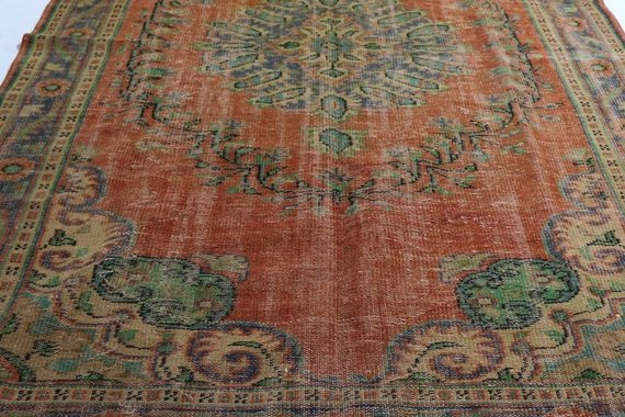 ZA-164 VINTAGE TURKISH RUG