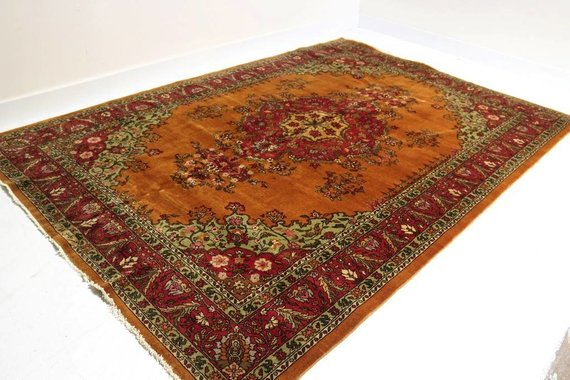 ZA-147 VINTAGE TURKISH RUG