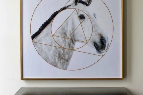 HORSE ARTWORK FLICKA