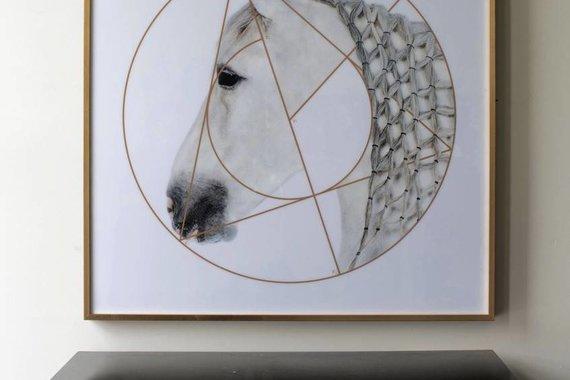 HORSE ARTWORK MONTSY