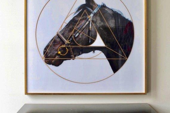 HORSE ARTWORK CORNELL