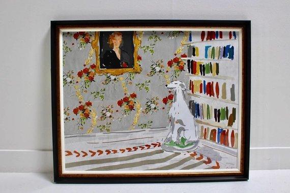 'NOBLE DOG' ARTWORK
