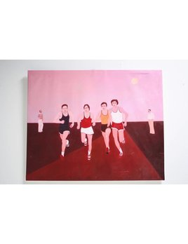 RUNNERS ON CANVAS