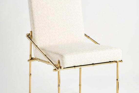 BLANCHE CHAIR IN CHAMPAGNE GOLD