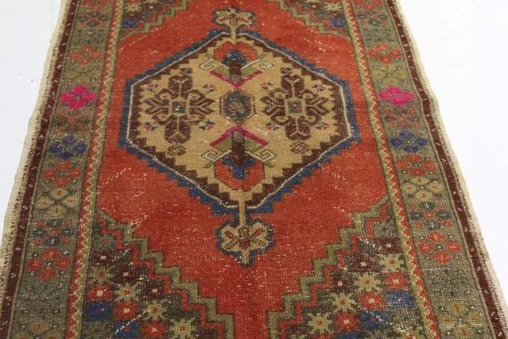 ZA-185 VINTAGE TURKISH RUG