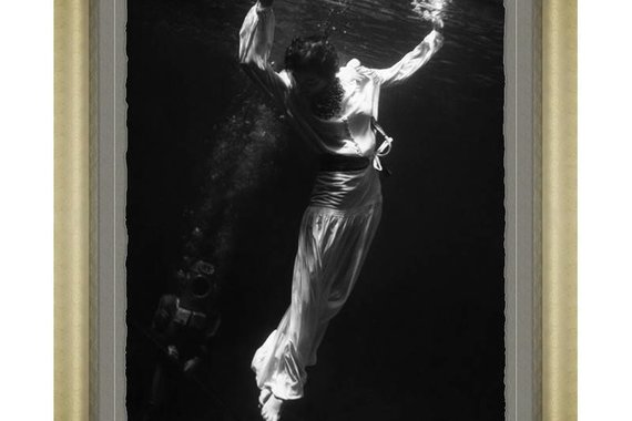 WOMAN FLOATING BY TONI FRISSELL FOR VOGUE
