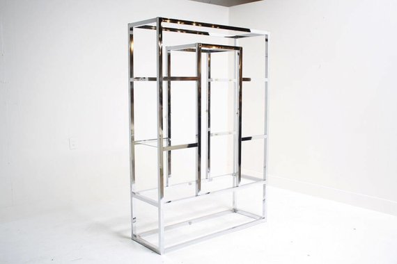 CHROME ETAGERE