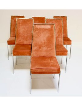 6 MILO STYLE DINING CHAIRS