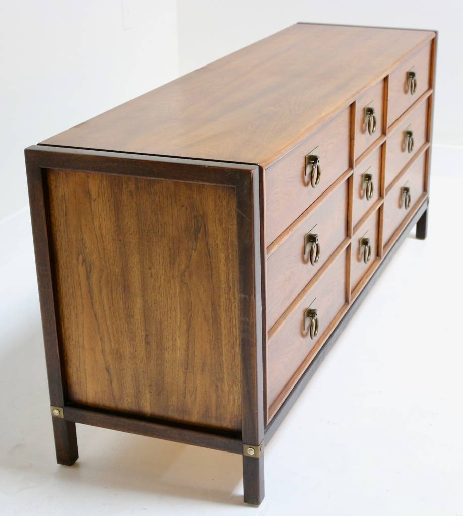 HENREDON DRESSER WITH BRASS RING PULLS Scout Design Studio
