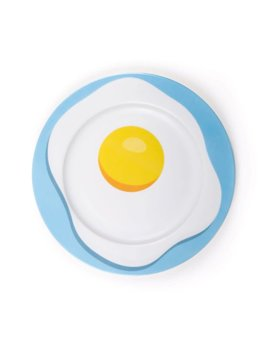 SELETTI STUDIO JOB-BLOW EGG PLATE
