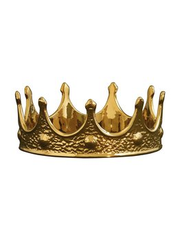 GOLD EDITION CROWN BY SELETTI