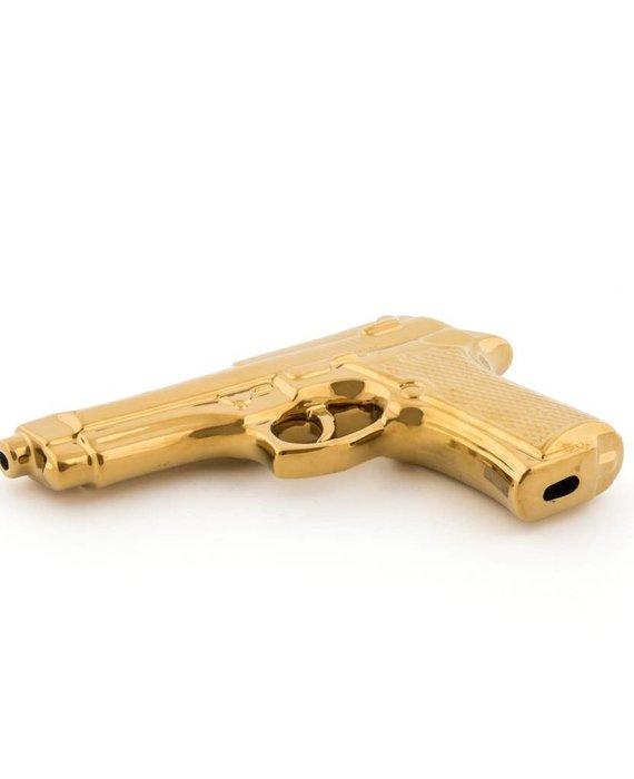 GOLD EDITION GUN BY SELETTI