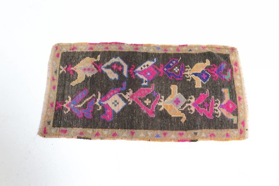 VINTAGE TURKISH MAT 29