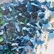 BUTTERFLY 4 PANEL ART - BLUE