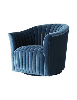 GABE SWIVEL IN SPRUCE VELVET