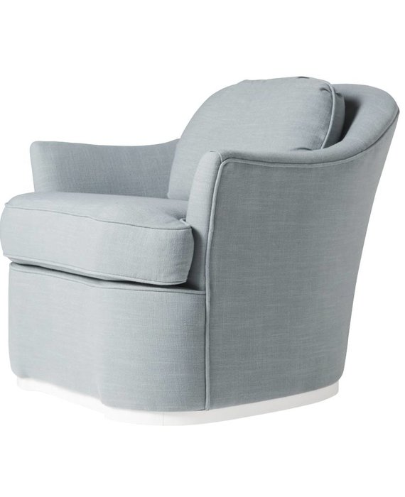 MURRAY SWIVEL CHAIR IN BLUE