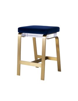 GAVIN BAR STOOL - NAVY