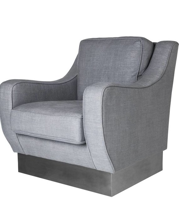 CYBILL CHAIR IN GRAPHITE LINEN