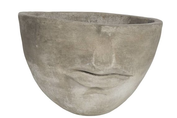 CONCRETE FACE PLANTER