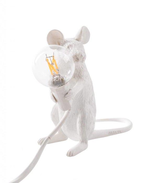 SELETTI SEATED MOUSE LAMP
