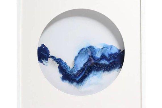 FRAMED NAIL ART BY JEN LIN