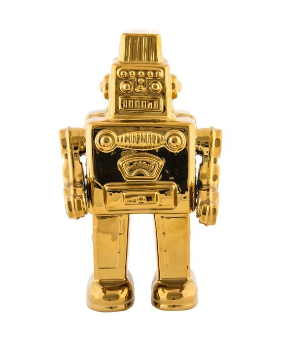 GOLD EDITION ROBOT BY SELETTI