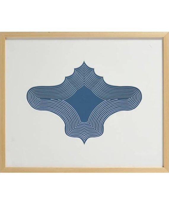 GINGER VASE 3D ART - LINDA
