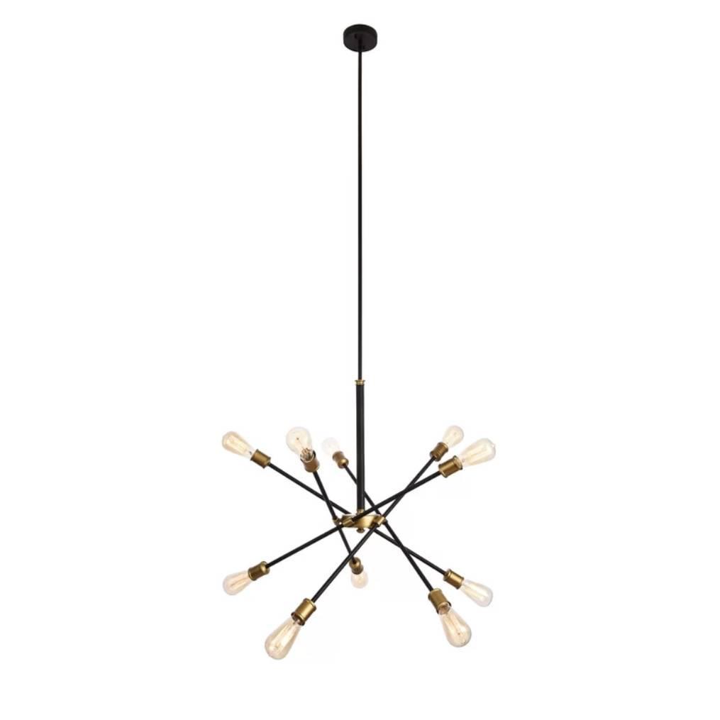 sazerac light fixture stitches custom products elsie chandelier brass sputnik modern